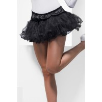 Gonna tutu petticoat nero