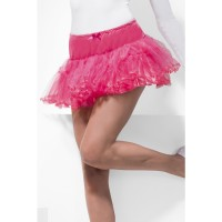 Gonna tutu petticoat pink