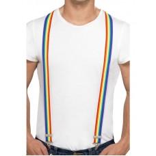 Bretelle multicolore