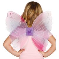 Ali da farfalla glitter