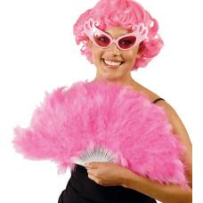 Ventaglio di piume pink