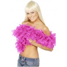 Boa grande di piume pink