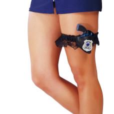 Giarrettiera con fondina polizia