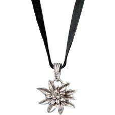 Collana bavarese con stella alpina
