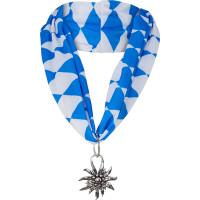 Foulard bavarese con stella alpina
