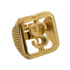 Anello con simbolo del dollaro