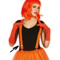 Bretelle arancioni neon