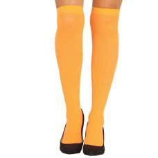 Calze parigine arancioni