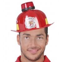 Casco da pompiere con luce e sirena