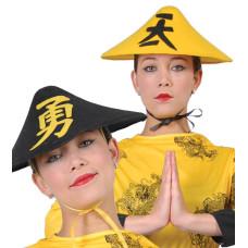 Cappello cinese giallo