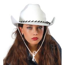 Cappello da cowboy con fascia