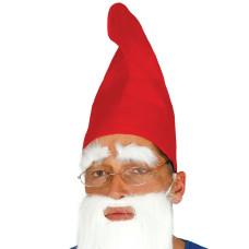 Cappello da gnomo rosso