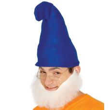 Cappello da gnomo blu