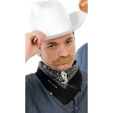 Bandana foulard da cowboy nera