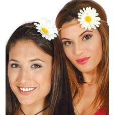 Fascia per testa con fiore grande