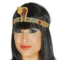 Fascia per testa egiziana con gioielli