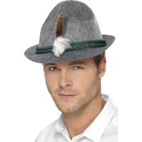 Cappello bavarese con piuma