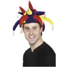 Cappello da giullare con campanelle