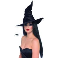 Cappello da strega con ragnetto