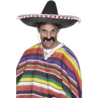 Cappello sombrero messicano con palline