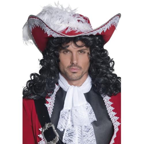 guarda bene le scarpe in vendita economico in vendita data di uscita Cappello da pirata con piuma deluxe