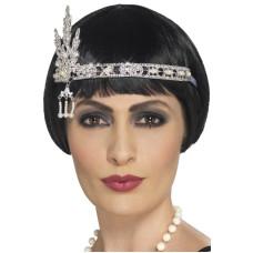 Fascia per testa con gioielli anni 20