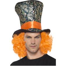 Cappello del Cappellaio matto con capelli