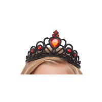 Corona da principessa con gemme nera