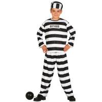 Costume per bambino da carcerato