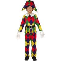 Costume per bambino da arlecchino