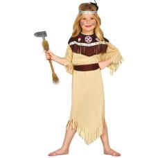 Costume per bambina da indiana Cherokee