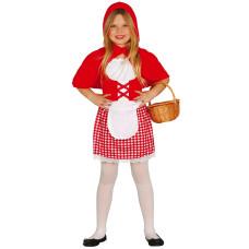 Costume per bambina da cappuccetto rosso