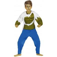 Costume per bambino di Hulk