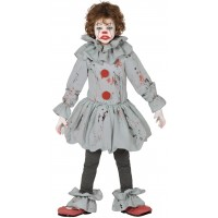 Costume per bambino del Pagliaccio IT insanguinato