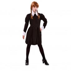 Costume per bambina di Mercoledì Addams