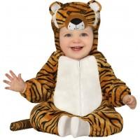 Costume per neonati da tigre