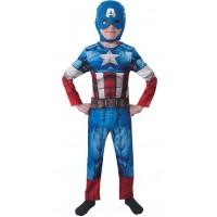 Costume per bambino di Capitan America originale