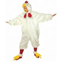 Costume a tuta da pollo