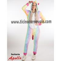 Costume a tuta da unicorno