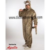 Costume a tuta da leopardo