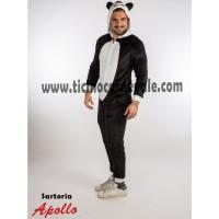 Costume a tuta da panda
