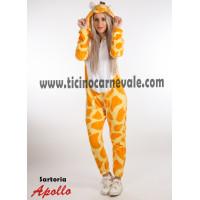 Costume a tuta da giraffa