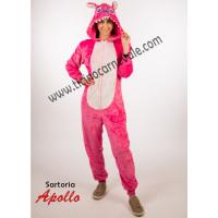 Costume a tuta da Stitch rosa