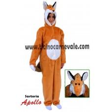Costume a tuta da volpe