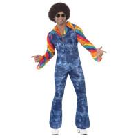 Costume da hippie a tuta