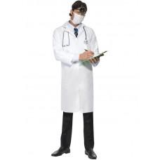 Camice da dottore con mascherina