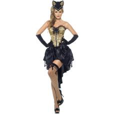 Costume burlesque da gatta