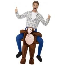 Costume a cavallo di scimmia