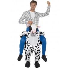 Costume a cavallo di mucca