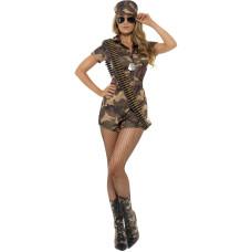 Costume da soldatessa
